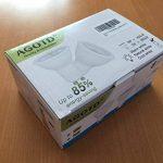 AGOTD Ampoule GU10 LED 5W 230V, equivalent Ampoule Halogene 35W 40W, Non Réglable,400lm, Blanc Chaud, 3000K, 100v-240 Vac, Culot GU10, Lot de 6 units de la marque AGOTD image 3 produit