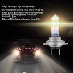 AGPTEK 2X H7 Ampoules Auto Xénon 12V 55W Phares Voiture Ampoules Auto Moto Super Brillant Lampe Ampoule Halogène Véhicule de la marque AGPTEK image 2 produit