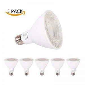 Aigostar 005831 - Lot de 5 ampoules LED PAR30 COB, culot E27, 12 W, 900 lumens et lumière chaude (3000K) de la marque Aigostar image 0 produit