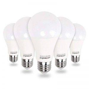 Aigostar Lot de 5 Ampoules LED Standard Culot E27 (Grosse Vis) 12W Consommés Équivalent 100W [Classe énergétique A+] [Classe énergétique A+] de la marque Aigostar image 0 produit