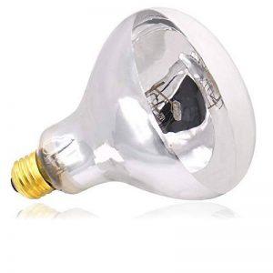 AIICIOO Basking Lampe chauffante pour Reptiles et Amphibiens UVB UVA Lumière du jour dans une Ampoule Aide les Animal du Désert à Absorber le Calcium E27 220–240 V 125 W de la marque AIICIOO image 0 produit