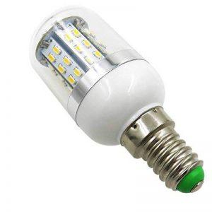 Aiyowei E143W Ampoule LED Maïs Ampoule avec couvercle 48–3014SMD AC/DC 12V-24V Explosion Proof Bougie lumières Blanc chaud 3000K (lot de 2) de la marque AIYOWEI image 0 produit