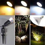 Akaiyal 15W PAR38 LED Réflecteur Lampe E27 Blanc Froid 6000K Étanche IP65 120 Degrés de Remplacement pour Lampe Halogène/Ampoule Conventionnelle (Non Dimmable) de la marque Akaiyal image 2 produit