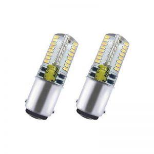Akaiyal Ba15d Led Lampe 3W AC/DC 12V 3014 SMD SBC Baïonnette Double Contact Ampoule Blanc Frais 6000K Pour Intérieur RV Camper Bateau Éclairage (2-Pack, Non-Dimmable) de la marque Akaiyal image 0 produit