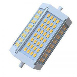 Akaiyal Dimmable R7s led Lampe 30W 118MM Double Ended J118 Ampoules Blanc Chaud 3000K 5630 SMD 200 Degrés (1-Pack, Sans Ventilateur) de la marque Akaiyal image 0 produit