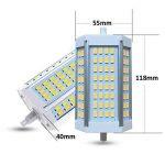 Akaiyal Dimmable R7s led Lampe 30W 118MM Double Ended J118 Ampoules Blanc Chaud 3000K 5630 SMD 200 Degrés (1-Pack, Sans Ventilateur) de la marque Akaiyal image 2 produit