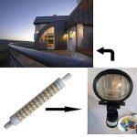 Akaiyal R7s LED Lampe Dimmable 118MM 10W Blanc Chaud 3000K AC220-240V Double-Ended Base J118 Tube Linéaire En Céramique Ampoule 360 Degrés (Dimmable, 2-Pack) de la marque Akaiyal image 3 produit