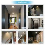 Albrillo Plafonnier LED - 18W avec Détecteur de Mouvement avec Détection infrarouge, Angle de faisceau 120°, 1300LM 4000K Blanc naturel, Lampe de plafond pour Couloir, entrée de la marque Albrillo image 4 produit