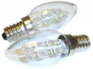 Alfa Lighting Ampoule C7/E12 à LED Blanc doux 0,5W/5W 15LM 2900K de la marque Alfa image 0 produit