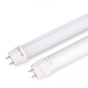 ALOTOA 2ft 10W T8 LED Tube Fluorescent, Tube LED Longueur 60 cm avec prise G13 Blanc Naturel 4000k 1000LM Tube Remplace 20W Traditionnels tube(2 pièces) de la marque ALOTOA image 0 produit