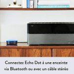 Amazon Echo Dot (2ème génération), Noir + Kit de démarrage Philips Hue White & Color E27 (3 ampoules + pont de connexion Hue + télécommande Hue) de la marque image 1 produit