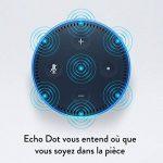 Amazon Echo Dot (2ème génération), Noir + Kit de démarrage Philips Hue White E27 (2 ampoules + pont de connexion Hue) de la marque image 4 produit