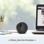 Amazon Echo Spot, Blanc + Amazon Smart Plug (Prise connectée WiFi), Fonctionne avec Alexa de la marque image 1 produit