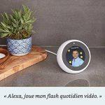 Amazon Echo Spot, Blanc + Amazon Smart Plug (Prise connectée WiFi), Fonctionne avec Alexa de la marque image 3 produit