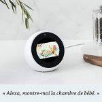 Amazon Echo Spot, Blanc + Amazon Smart Plug (Prise connectée WiFi), Fonctionne avec Alexa de la marque image 4 produit