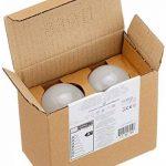AmazonBasics Ampoule LED E27 A60 avec culot à vis, 10.5W (équivalent ampoule incandescente 75W),blanc chaud - Lot de 2 de la marque AmazonBasics image 2 produit