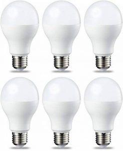 AmazonBasics Ampoule LED E27 A67 avec culot à vis, 14W (équivalent ampoule incandescente 100W),blanc chaud - Lot de 6 de la marque AmazonBasics image 0 produit