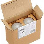 AmazonBasics Ampoule LED E27 A67 avec culot à vis, 14W (équivalent ampoule incandescentede 100W), blanc froid - Lot de 2 de la marque AmazonBasics image 3 produit