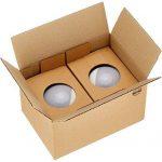 AmazonBasics Ampoule LED Globe E27 G93, 14.5W (équivalent ampoule incandescente de 100W), blanc chaud - Lot de 2 de la marque AmazonBasics image 3 produit