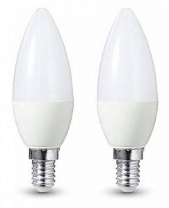 AmazonBasics Lot de 2 ampoules LED E14 5,5 W (40 W) de la marque AmazonBasics image 0 produit