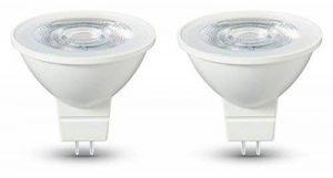AmazonBasics Lot de 2 ampoules LED GU5.3 4,5 W (35 W) de la marque AmazonBasics image 0 produit