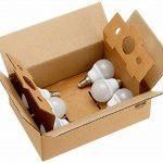 AmazonBasics Petite ampoule LED E14 P45 type globe, avec culot à vis, 5.5W (équivalent ampoule incandescente de 40W), blanc chaud - Lot de 6 de la marque AmazonBasics image 4 produit