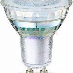 AmazonBasics Spot LED type GU10, 4.6W (équivalent ampoule incandescente de 50W), verre - Lot de 2 de la marque AmazonBasics image 1 produit