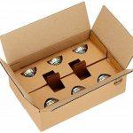 AmazonBasics Spot LED type GU10, 4.6W (équivalent ampoule incandescente de 50W), verre - Lot de 6 de la marque AmazonBasics image 3 produit