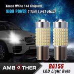 AMBOTHER 2pcs P21W BA15s LED Ampoule Auto Phare Brouillard Feu Anti-brouillard de la marque AMBOTHER image 4 produit