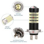 AMBOTHER® H7 LED Phare antibrouillard 4014 SMD 102 LED Ampoule antibrouillard 5W 6000K DC12-24V de la marque AMBOTHER image 2 produit