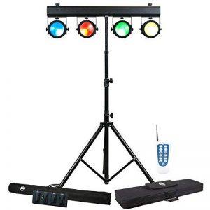 American DJ Dotz Tpar Sys Système à projecteurs WASH Noir de la marque American DJ image 0 produit