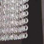 Ameuli Éclairage Lustre Lustre Lampes à LED lustres en Cristal verticaux de Luxe en Acier Inoxydable de la Suspension G9 éclairage LED intérieur Brillant de la marque Ameuli image 3 produit
