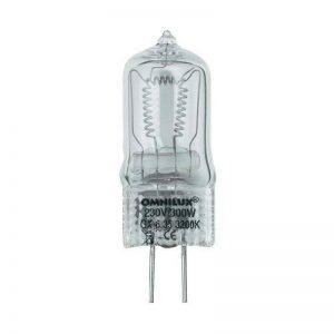 Ampoule 230 V/300 W GX-6,35 de la marque Steinigke Showtechnic image 0 produit