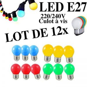 ampoule baïonnette couleur TOP 9 image 0 produit