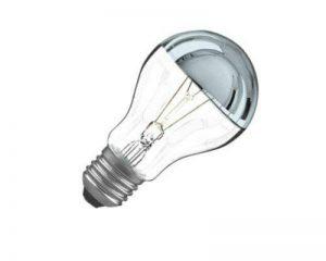 Ampoule calotte argentée E27 60W de la marque ORBITEC image 0 produit