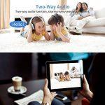 Ampoule Caméra HD avec 32GB SD Card, Camera de Surveillance Wifi Panorama 960P, Cachée Caméra IP, Sans Fil, Infrarouge, Vision Nocturne, Audio Bidirectionnel, Détection de Mouvement, Cameras Sécurité pour iPhone/ Android Phone/ iPad - REIGY de la marque R image 3 produit