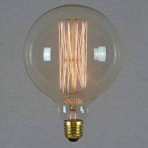Ampoule déco à filament long - Géant sphérique à filament rétro vintage industrie 125mm E27 60W - The Retro Boutique de la marque The Retro Boutique image 0 produit