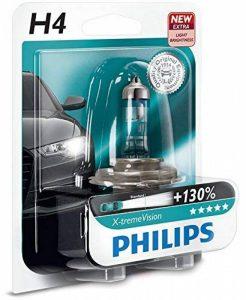AMPOULE DE PHARE AVANT ORIGINE PHILIPS XTREME VISION +130 H4 (1PC) 12342XV + B1 de la marque Philips image 0 produit
