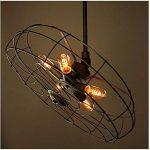 Ampoule de style Edison, Hostweigh T45vintage décoratifs ampoule LED, E27E26Base, à intensité variable ampoule à filament pour maison luminaires, 110–130V 40W, Blanc chaud, Lot de 9 de la marque Hostweigh image 4 produit
