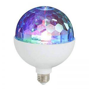 Ampoule Disco LED, ampoule Disco, Boule Disco, rotative, Disco, éclairage Disco, ampoule E27, blanc de la marque Briloner Leuchten image 0 produit