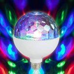 Ampoule Disco LED, ampoule Disco, Boule Disco, rotative, Disco, éclairage Disco, ampoule E27, blanc de la marque Briloner Leuchten image 1 produit