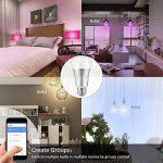 Ampoule E27 Intelligente LED WiFi, Bawoo 7W Ampoule Connectée Ecologique Lumiere Couleurs RGB Compatible Avec Amazon Alexa Google Home IFTTT Télécommande Par Smartphone de la marque Bawoo image 4 produit