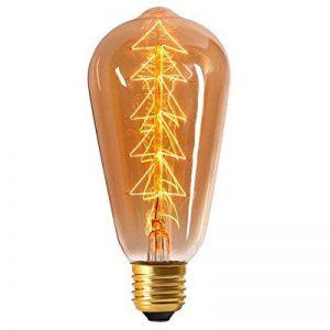 """Ampoule Edison à filament en carbone """"Sapin"""" 60W E27 Ambrée Ariane de la marque Ariane image 0 produit"""