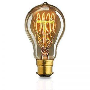 Ampoule Edison B22 40w A19 mamelon baïonnette restaurant lumière décorative populaire de la marque KJLARS image 0 produit