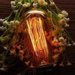 Ampoule Edison, Elfeland E27 60W Ampoule Incandescence Antique Filament Industriel 2200K 180LM Blanc Chaud Lumière Décoration Idéal pour Eclairages Nostalgiques et Rétro Modèle ST58-3 Packs de la marque Elfeland image 1 produit