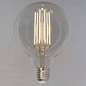 Ampoule Edison Globe LED Vintage Réglable - Globe Grosse 6W (60W) 95mm E27 - Style Vintage Industriel - The Retro Boutique ® de la marque The Retro Boutique image 0 produit
