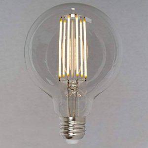 Ampoule Edison Globe LED Vintage Réglable - Globe Grosse 6W (60W) 95mm E27 - Style Vintage Industriel - The Retro Boutique ® de la marque The Retro Boutique image 0 produit