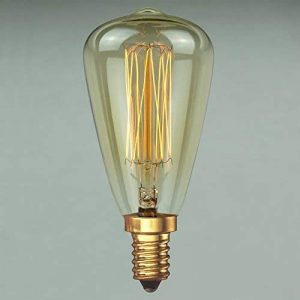 Ampoule Edison Vintage 40w - Vintage Rétro Industrie à filament long 48mm E14 - The Retro Boutique de la marque The Retro Boutique image 0 produit