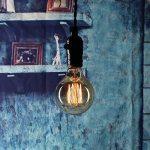 Ampoule Edison Vintage, Elfeland 40W E27 Ampoule Incandescence Antique Style Lampe décorative Filament de Tungstène 180LM 2200K Blanc Chaud Idéal pour Nostalgie et l'éclairage Rétro Modèle G80 de la marque Elfeland image 2 produit