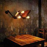 Ampoule Filament Edison, Massway 6 paquets E27 Rétro Antique Lampe décorative, 40W, 2700K Dimmable Blanc Chaud ampoule incandescente de la marque Massway image 3 produit